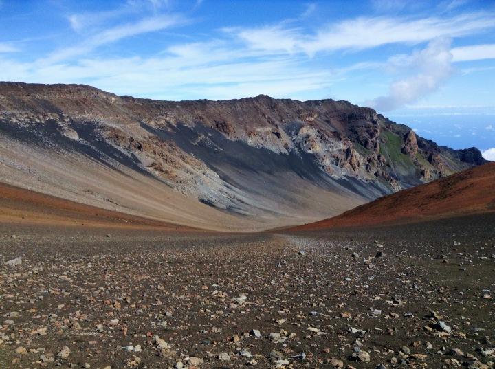 Randonnée et camping dans le cratère du volcanHaleakala