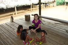 En visite chez les Embera du Panama