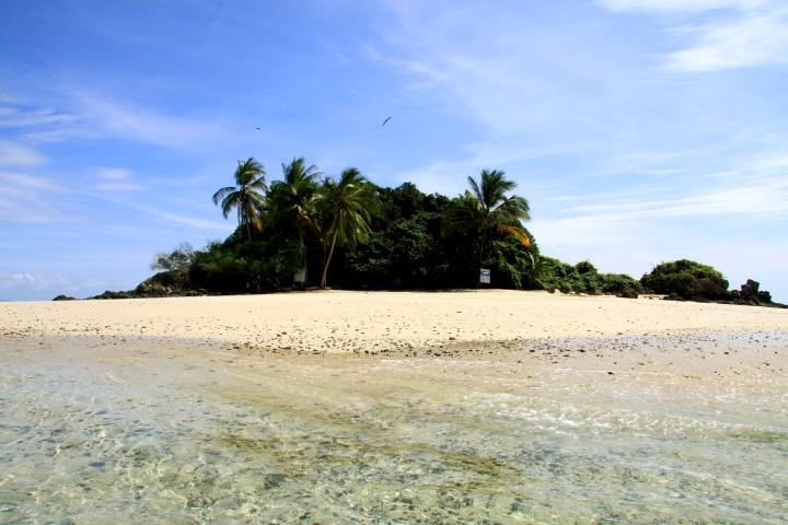 Petite île paradisiaque dans le parc national Coiba