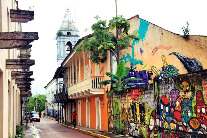 Les rues de la ville de Panama nous réservent parfois des surprises comme celle-ci