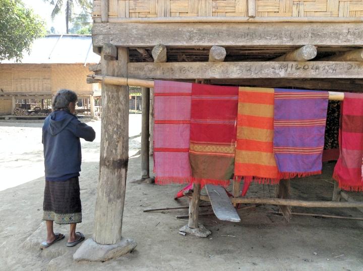 Le tissage traditionnel