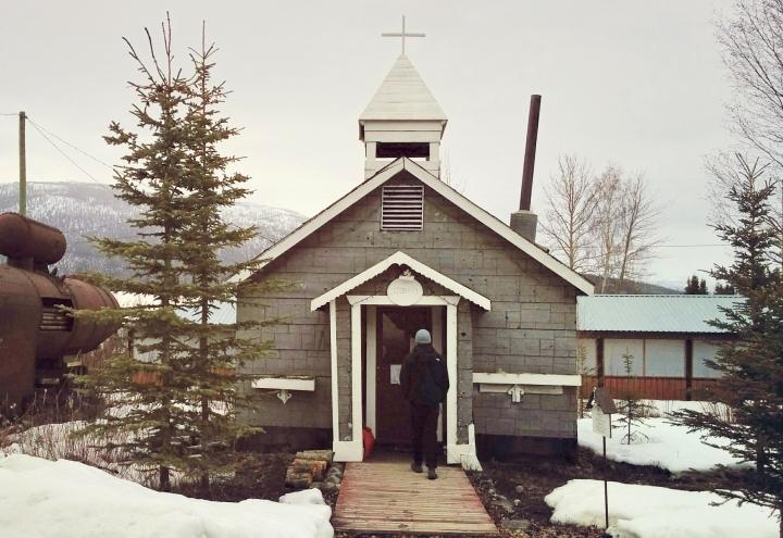 Chapelle reconvertie en bibliothèque municipale