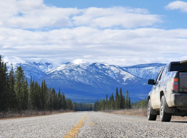 5 itinéraires pour un road trip auYukon