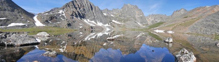Le mont Monolith et Grizzly Lake
