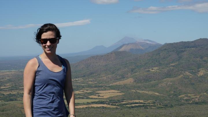 Au sommet du volcan Cerro Negro