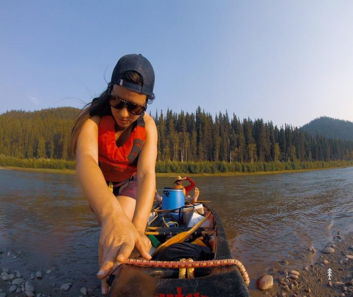 Descendre le fleuve Yukon encanot